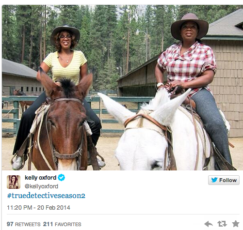 Oprah and Gayle for True Detective Season 2?