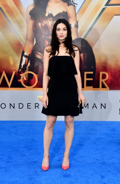 Crystal Reed Attends Wonder Woman Premiere