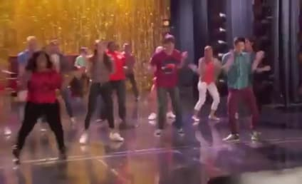 Glee Sneak Peeks: Double Returns, Cartwheels