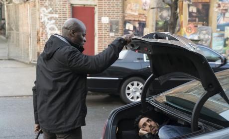 Get in the trunk - The Blacklist Season 4 Episode 16