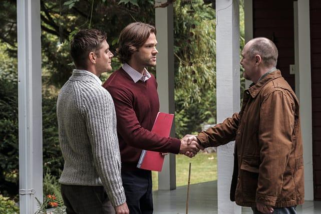 What's a handshake between friends - Supernatural Season 12 Episode 4