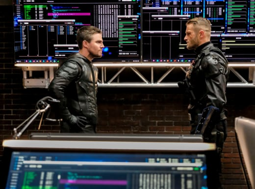 Working Together? - Arrow Season 6 Episode 12