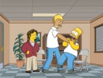 Paul Rudd and Kareem Abdul-Jabbar on The Simpsons