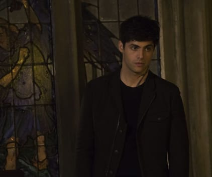 Turning to Lorenzo Rey - Shadowhunters