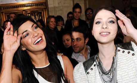 Jessica and Michelle