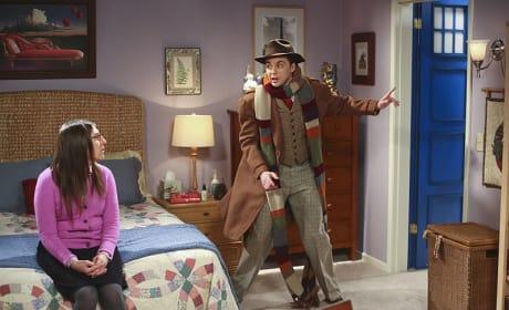 Sheldon, All Dressed Up - The Big Bang Theory Season 8 Episode 19
