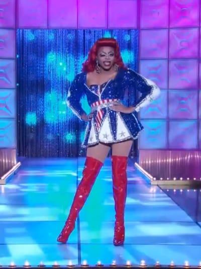 Heidi N Closet Political Runway - RuPaul's Drag Race Season 12 Episode 9