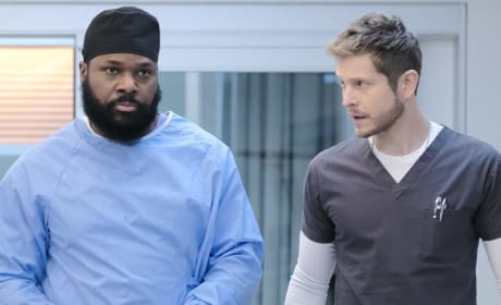 Working Together - Tall  - The Resident Season 2 Episode 17