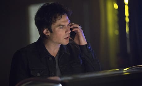 Not Amused - The Vampire Diaries Season 7 Episode 17