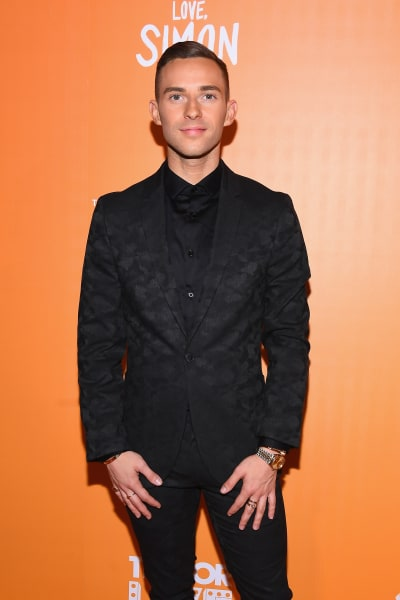 Adam Rippon Attends Trevor Project