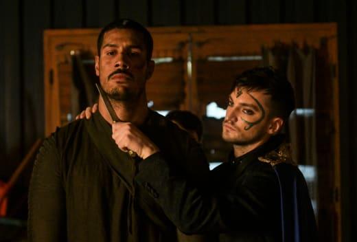 Gabriel and Murphy - The 100 Season 6 Episode 13