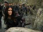 Octavia Going Into Battle - The 100