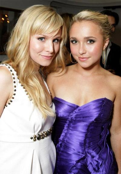 Hayden Panettiere and Kristen Bell