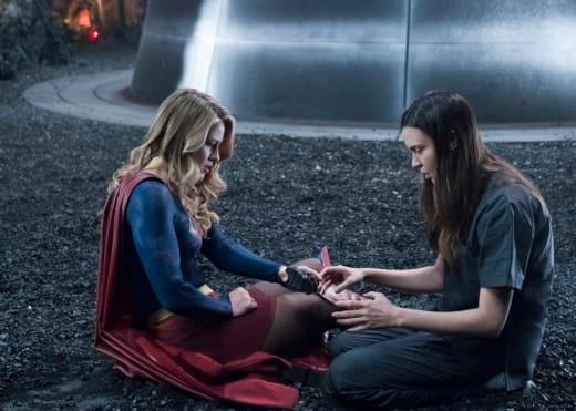 The Black Rock - Supergirl Season 3 Episode 23