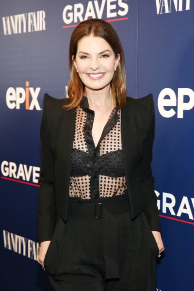 Sela Ward Attends Graves Premiere