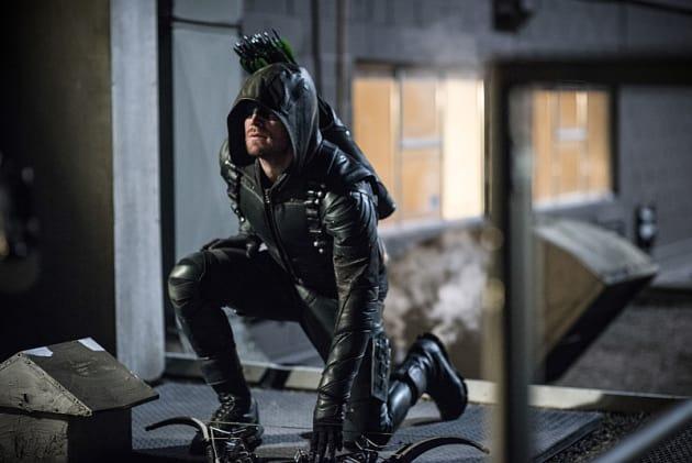 The Arrow Bows Down! Season 5 Episode 3