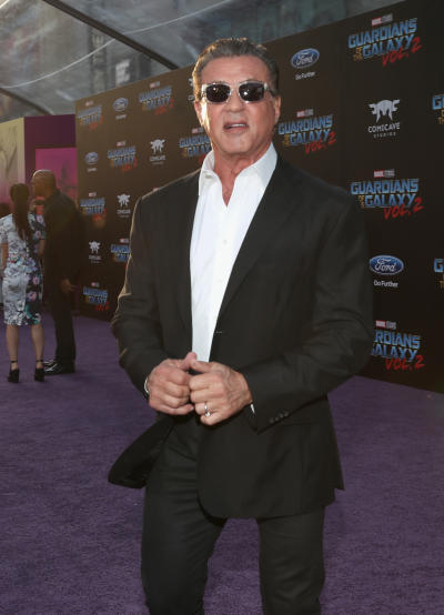 Sylvester Stallone Wears Shades