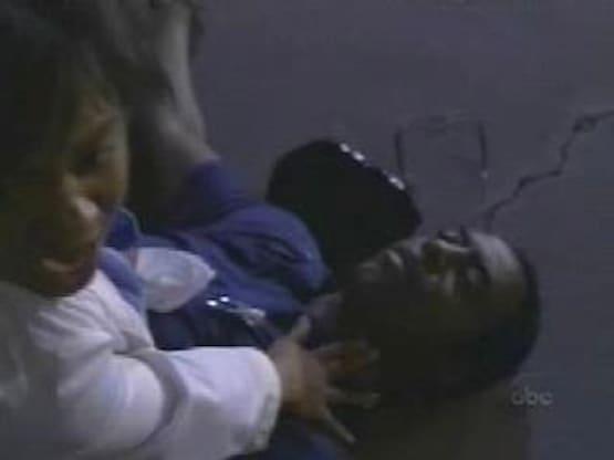 Burke is Shot