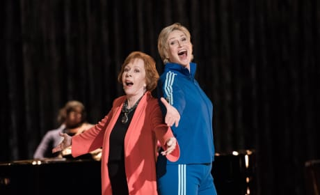 Carol Burnett on Glee Season 6 Episode 10