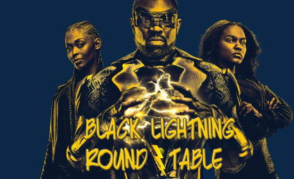 Black Lightning Round Table: Will Anissa Take Over From Her Father?!