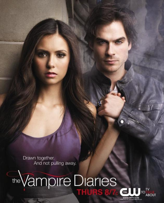 Elena and Damon Poster