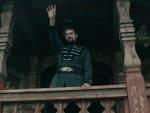 Oleg Raises His Hand - Vikings