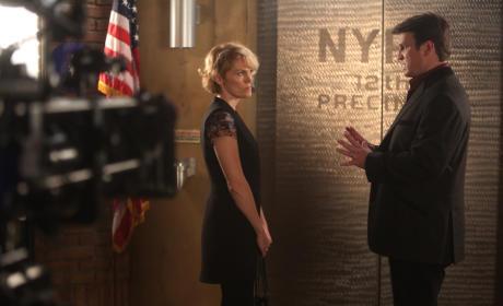 At the Precinct - Castle Season 8 Episode 5