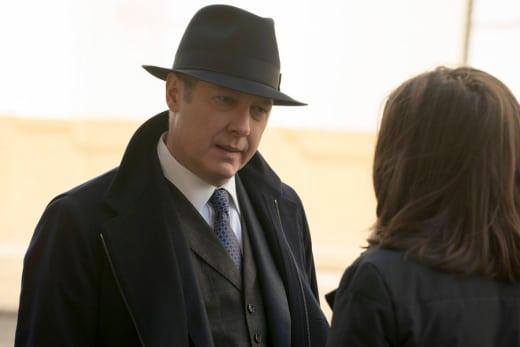Pressuring Liz - The Blacklist Season 2 Episode 18