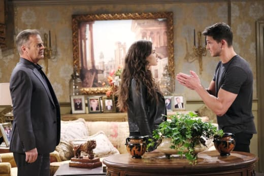 Fighting Over Justin - Days of Our Lives