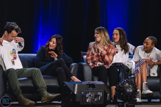 The Cast at Unity Days 2019 - The 100