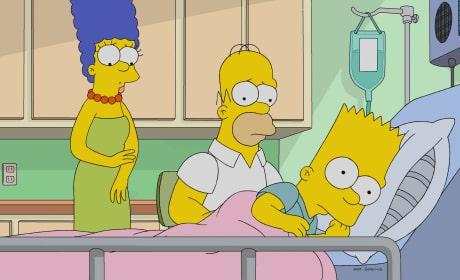 Meeting Jesus - The Simpsons