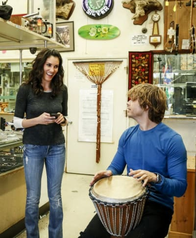 A Light Moment - NCIS: Los Angeles Season 8 Episode 21