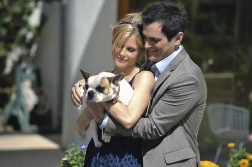 Phil, Claire and a Pug