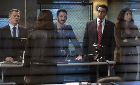 Samar isn't listening to Liz - The Blacklist Season 4 Episode 4