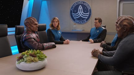 Meeting with Vorak - The Orville Season 1 Episode 3