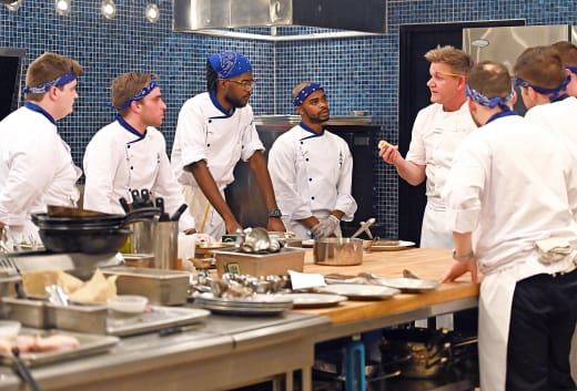 Cooking for Tyson  - Hell's Kitchen Season 20 Episode 2