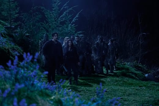The Blakes and The Children of Gabriel - The 100 Season 6 Episode 12
