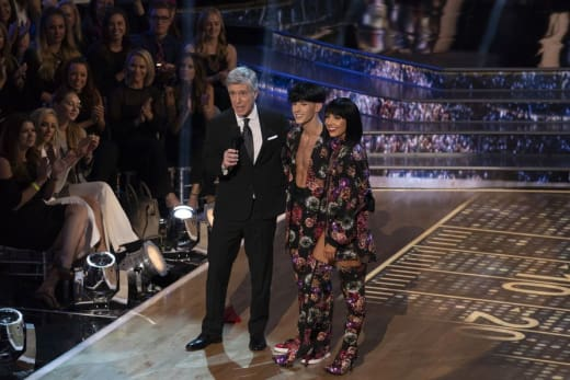 Adam Rippon Wears a Wig - Dancing With the Stars: Athletes Season 26 Episode 4