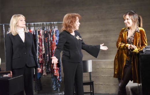 Marlena, Vivian, and Kate - Days of Our Lives