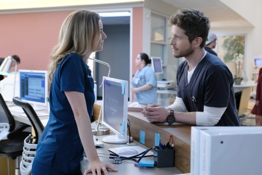 Love at Last - The Resident Season 2 Episode 1