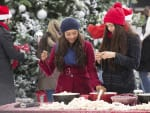 Christmas with Bonnie and Elena - The Vampire Diaries Season 6 Episode 10