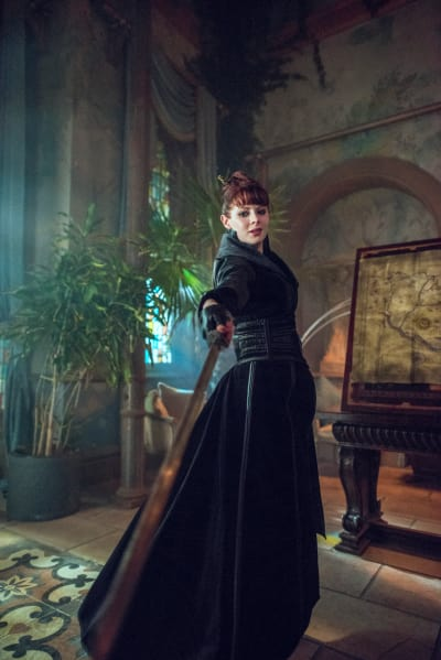 The Widow is Ready - Into the Badlands Season 2 Episode 9