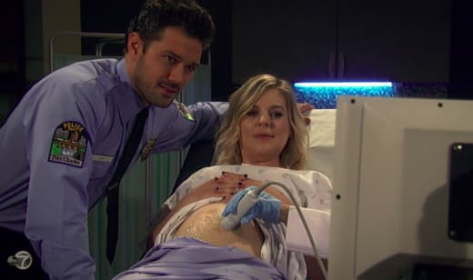 Maxie and Nathan Ultrasound - General Hospital