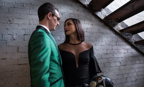 Under the stairwell - Gotham Season 4 Episode 20