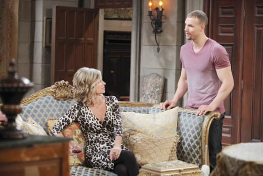 Clint Has a Mission - Days of Our Lives