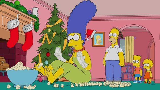 Fixing Christmas - The Simpsons