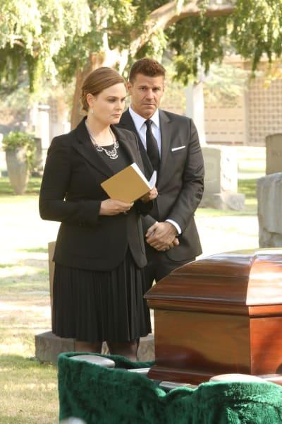 Brennan Mourns Her Father - Bones Season 12 Episode 8