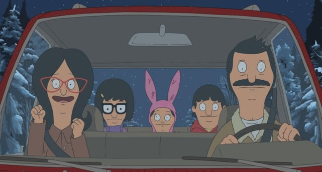 "Dec. 5th: ""Christmas in the Car"" - Bob's Burgers"