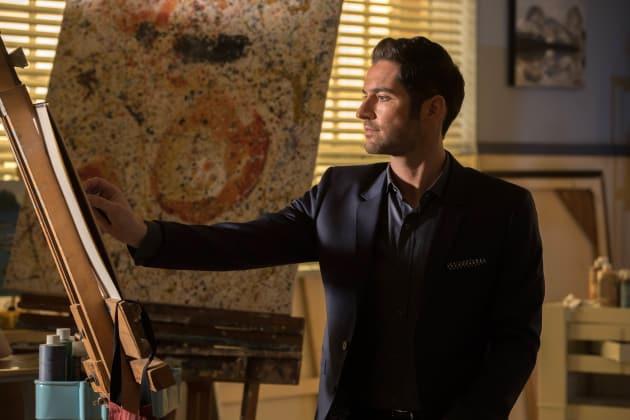 Artist at Work - Lucifer Season 2 Episode 16