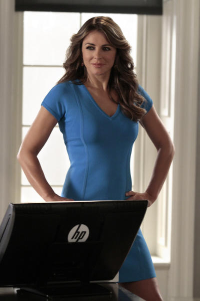 Diana in a Blue Dress